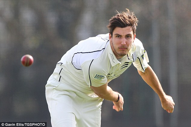 Recovery: After being sent home from Australia without bowling a ball, Steven Finn's improved significantly