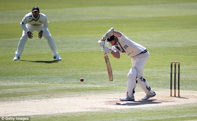 Complementary: The Australian-bred player's front foot strengths would work well with Cook's back-foot play