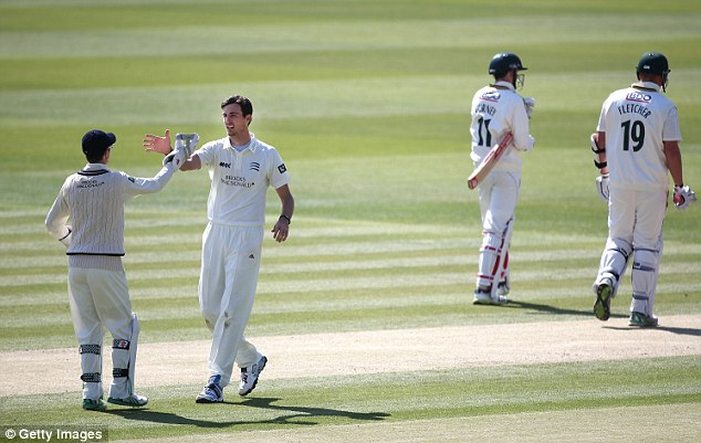 Not ready: Rogers says Finn's fortunes could go either way should he get a call-back to the England side