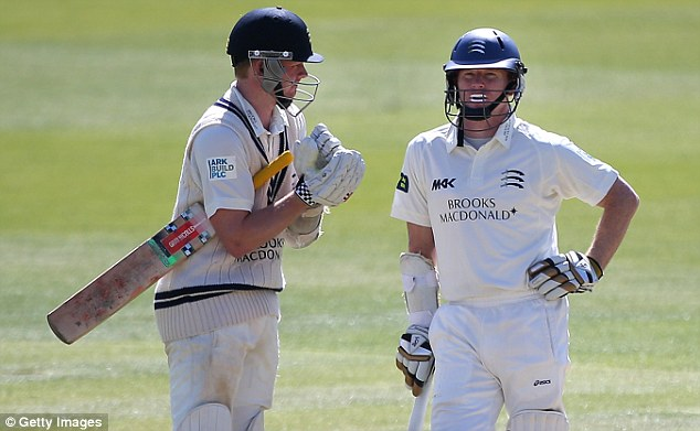 Countrymen: Rogers (right) said he'd like to see Robson (left) play for Australia, but respects his choice