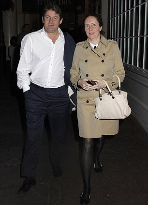Rebekah Brooks and Charlie Brooks went to see Fatal Attraction at the Haymarket with friends