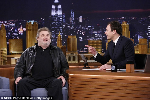 Late night: Artie appeared on The Tonight Show Starring Jimmy Fallon just last month