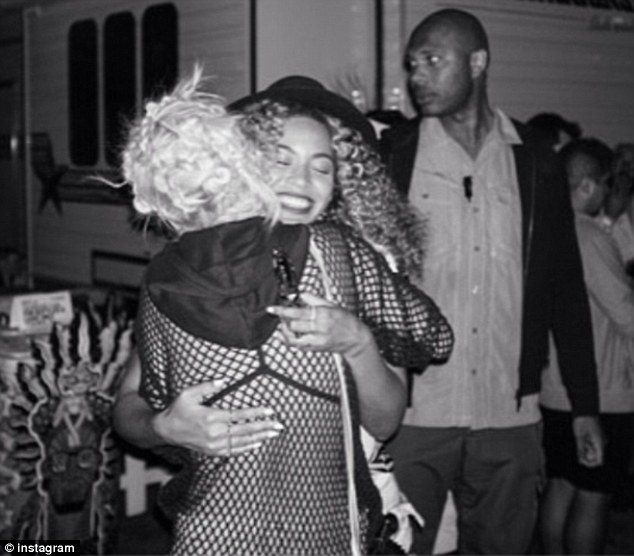 Highlight: Rita posted a picture of herself hugging Beyonce at Coachella festival over the weekend