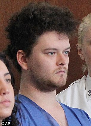 Mental problems: Edson's mother said that the former art school student, seen in court on Wednesday, has bipolar disorder
