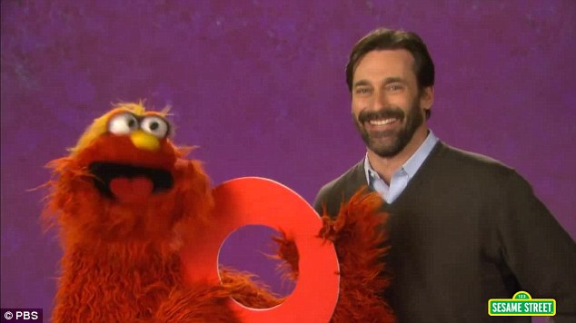 Letters of the alphabet: Jon previously also appeared in a Sesame Street segment, helping to teach audiences about the letter 'O'