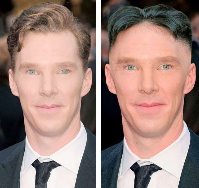 Shornlock Holmes: A case for TV's Benedict Cumberbatch