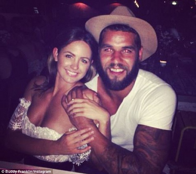 Lovebirds: The couple have been dating since last September