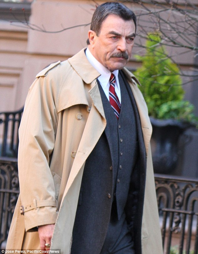 He's still got it: The ruggedly handsome television legend has aged like a particularly fine wine