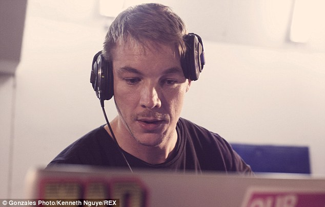Checkered past: Diplo revealed to GQ he was ordered to take anger management classes after being arrested for bar brawl