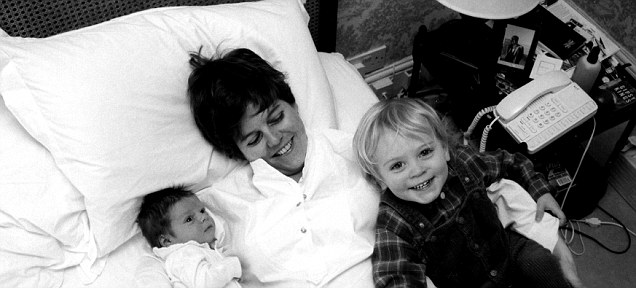 Rachel with sons George and Edward
