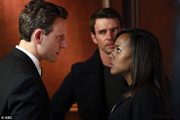 Explosive: Scandal's final episode aired in America on Thursday evening and it was explosive... but not in the way fans expected
