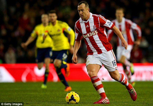 On the mend: Charlie Adam has undergone surgery for a broken nose but should feature