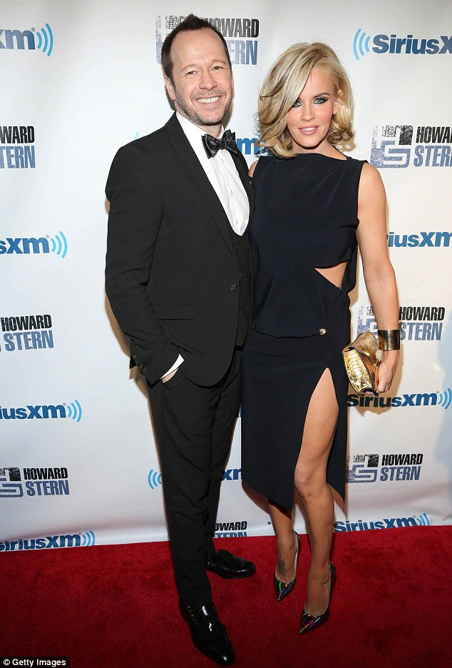 Happy couple: Jenny and Donnie in New York City in January