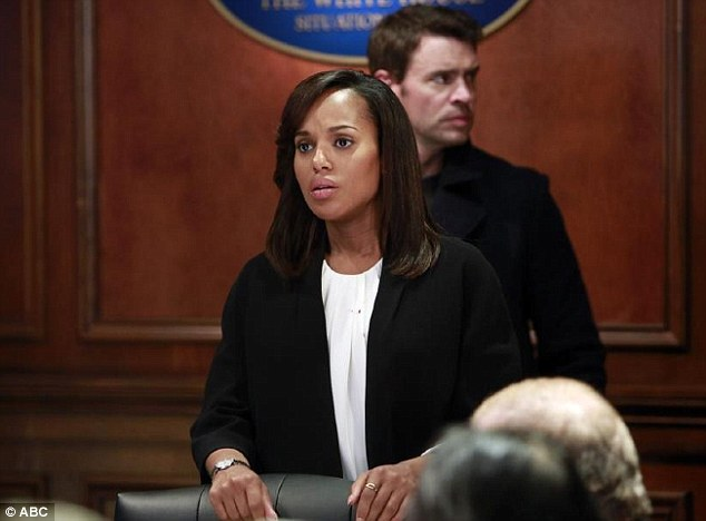 Bomber: A bomb planted by Olivia Pope's terrorist mother, Maya exploded after the main characters were evacuated and Cyrus was saved from death