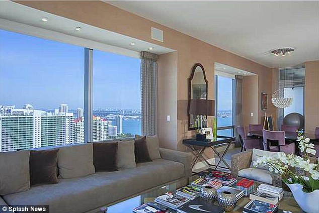 Moving on: Joanna Krupa has listed her Miami condo for $1.97 million