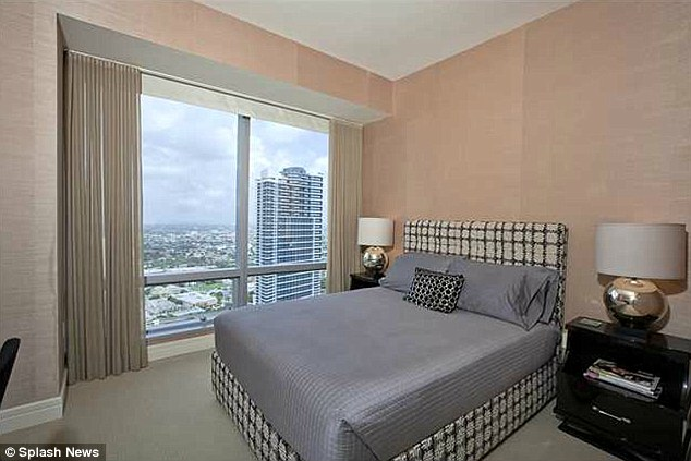 Sweeping: The residences has two bedrooms and two baths