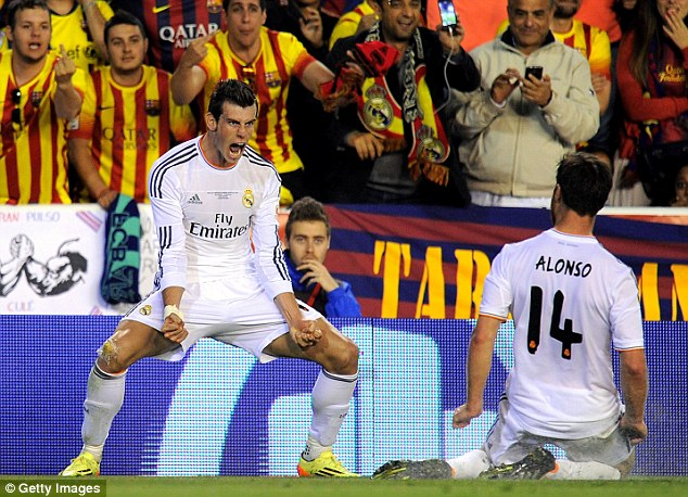 Threat: Bale and Cristiano Ronaldo could fire Real Madrid to Champions League glory