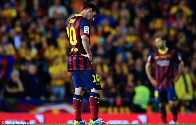 Contrast: Toure isn't happy that Lionel Messi is said to be the best but players like himself are overlooked