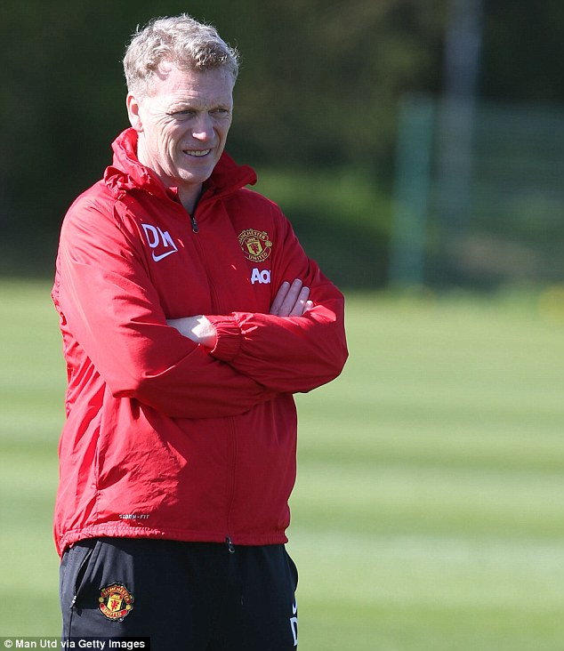 Return: David Moyes will be back at Goodison Park with his Manchester United team on Sunday