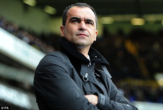 Recruiting: Everton manager Roberto Martinez is keen for Royle to become the club's new Development Director