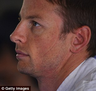 Plenty to do: Button is hoping for a dry race