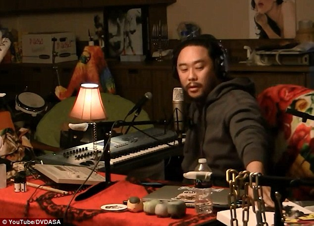Shock jock: David Choe was accused of being a rapist over a tale he made up on his podcast