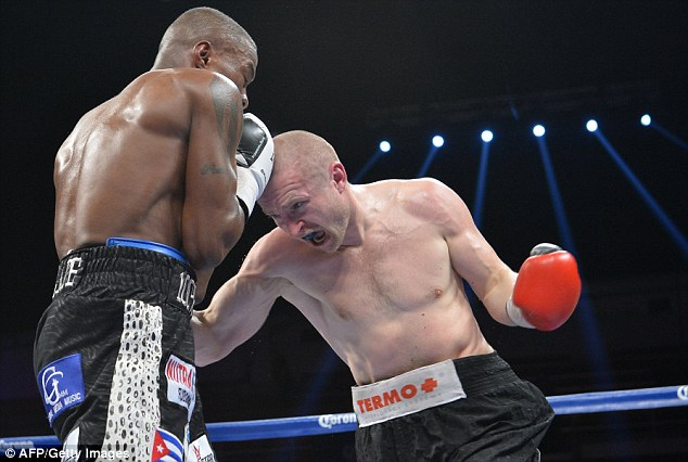 Powerless: While Konecny landed plenty of blows, he didn't have to strength to hurt Quillin