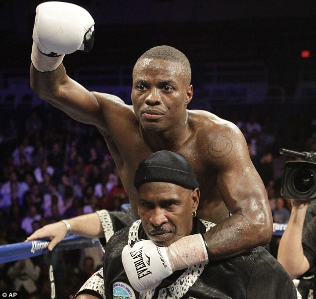 Not appreciated: Quillin was booed by parts of the crowd in the latter stages of his title defence