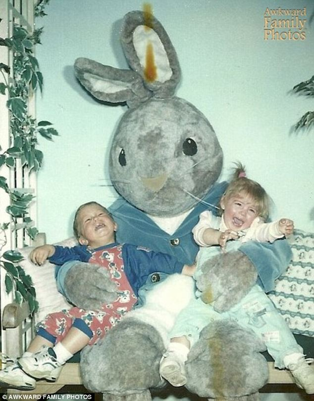 Smelling a rat: Things got ugly once they realized they'd been fooled once again by the Easter Bunny's surlier cousin, Resurrection Rat