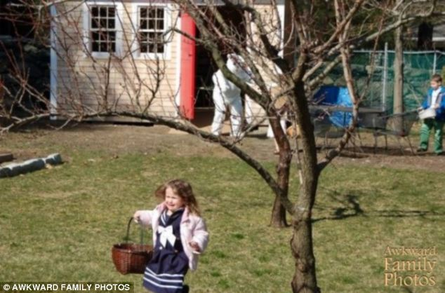 Where's Daddy!? What started as a cheery morning egg hunt soon turned into a terrifying struggle for survival after Daddy disappeared and a 6-foot furry monster returned in his place