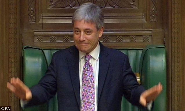 John Bercow has rarely been popular among MPs and has now further irritated them by his plans to replace the Metropolitan Police Force at the Houses of Parliament with a private security firm