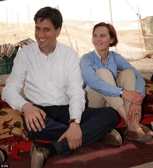 Ed Miliband and his wife Justine have been visiting Israel and Palestine over the festive period. The Labour leader took to Twitter to wish everyone a 'Happy Easter'