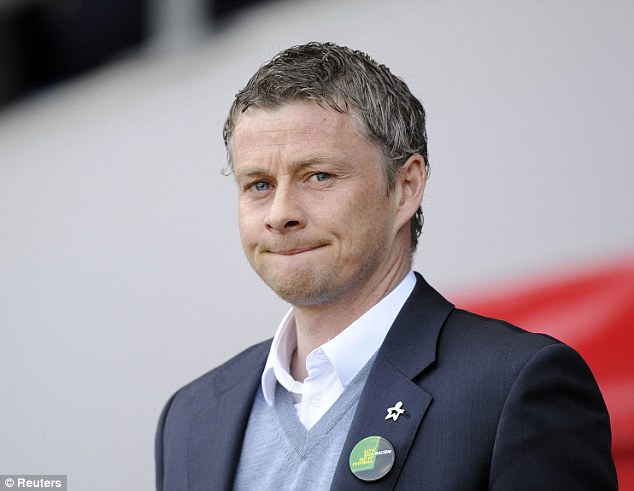 Way to go: Ole Gunnar Solskjaer knows his team have to start winning games