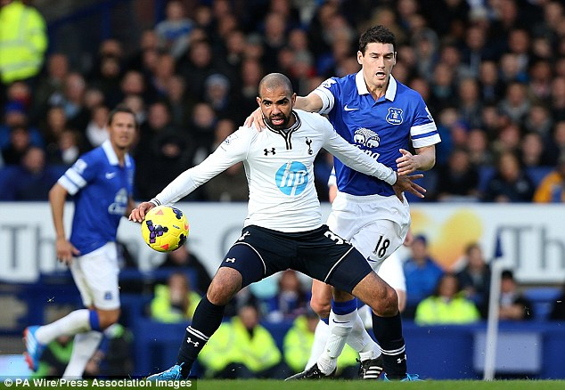 Not good enough: Sherwood has left Sandro out of the Spurs squad