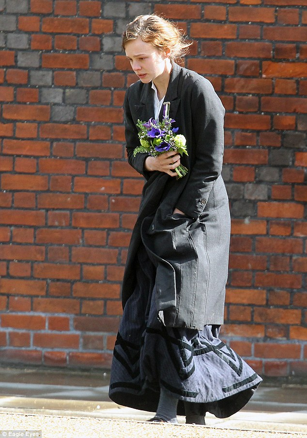 Arrests: Carey Mulligan plays Maud, a foot-soldier in the women's suffrage movement, who is visiting some of the female protestors brought into custody after marching on Parliament