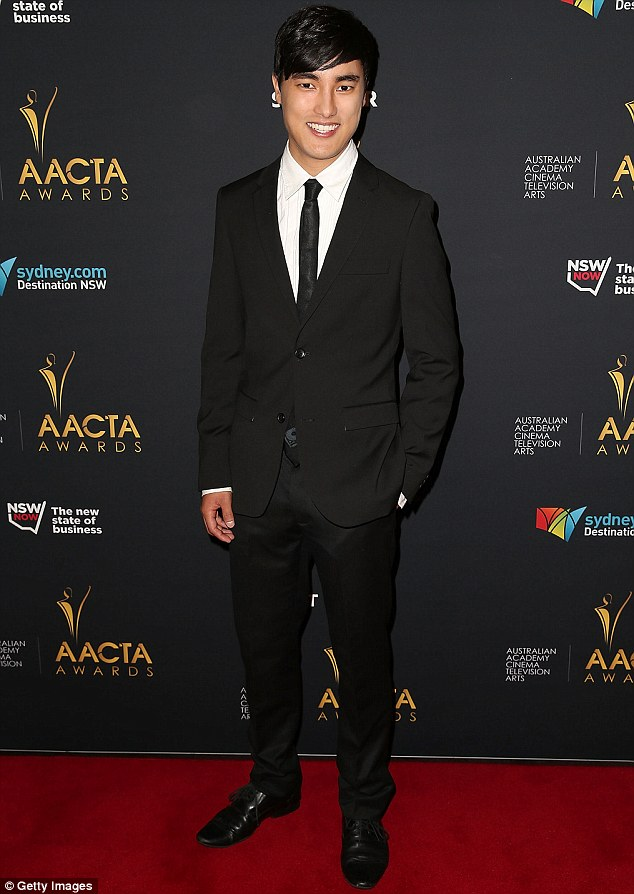 Logies victory: Remy Hii has won the Graham Kennedy Award for Most Outstanding New Talent for his performance on SBS drama Better Man