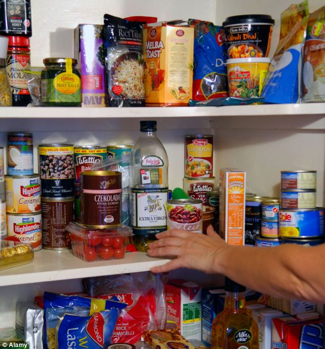 Researchers have found that items such as condiments, tinned food, dressings and dips are most likely to be out of date