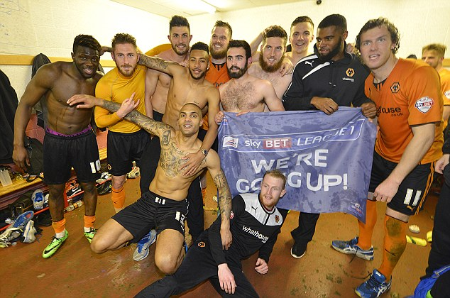 On the up: Wolves have returned to the Championship