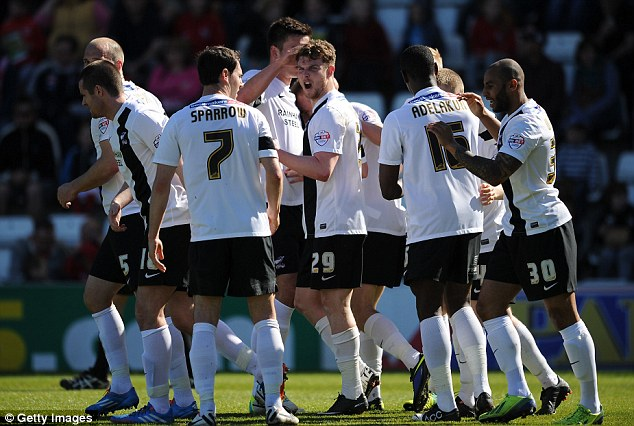 Leading the way: Scunthorpe United are top of League Two