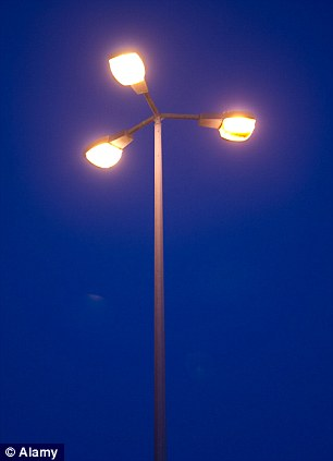 It comes as around 750,000 street lights are being switched off or dimmed down to either save money or reduce emissions