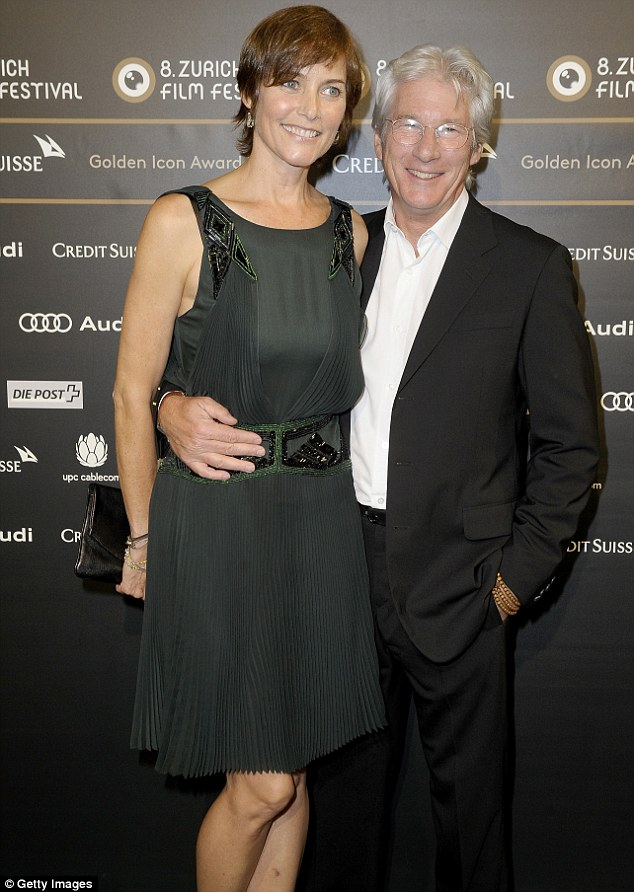 Divorcing: Richard and Carey Lowell spent over a decade together