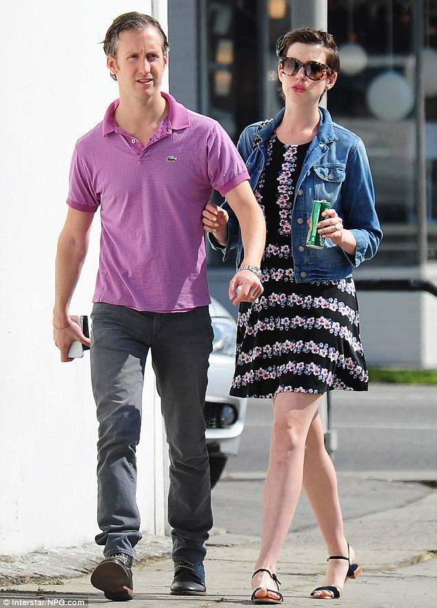Always together: The couple after lunch at M Cafe in West Hollywood on April 10