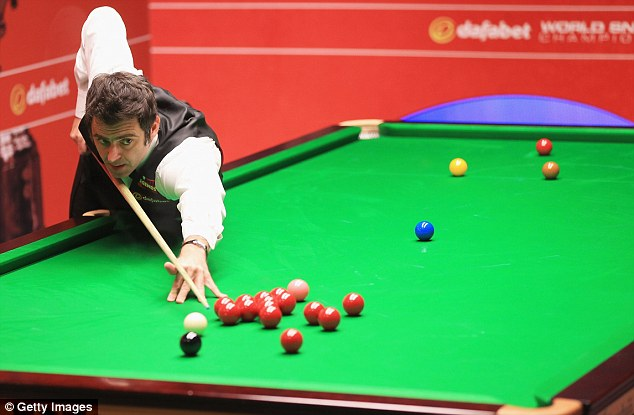 Back on track: Ronnie O'Sullivan was ready to quit snooker but has won two world titles since meeting Peters