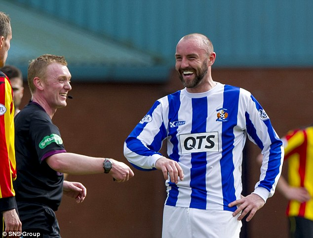 Return? Kris Boyd is wanted by Rangers