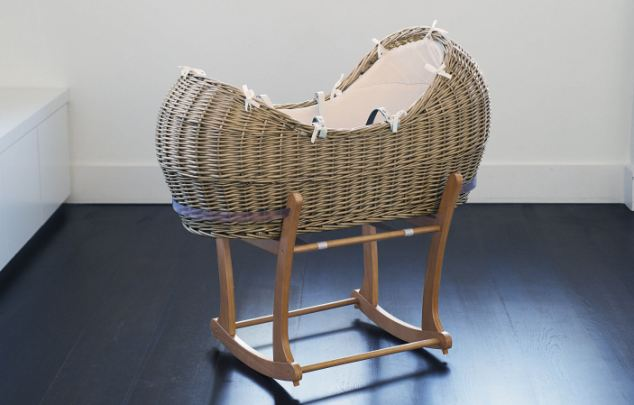 Pointless? Moses baskets scored highly on the list of baby gear parents regret buying