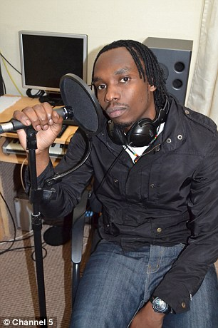 Unpopular: Rapper Elvis Turasinze was the subject of 82 complaints to the council from neighbours