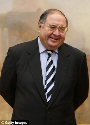 Alisher Usmanov, one of Russia's richest men, who is a close ally of President Putin