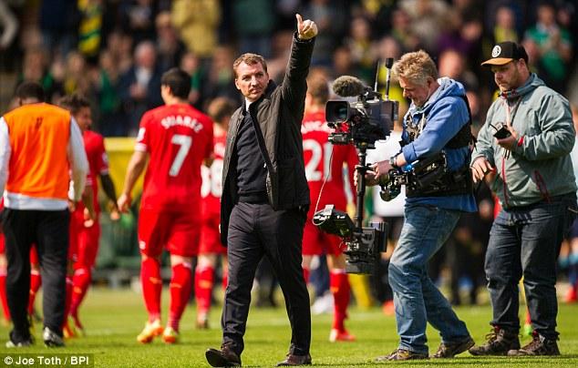 Rescue act: Brendan Rodgers has upheld the reputation of British coaches this season