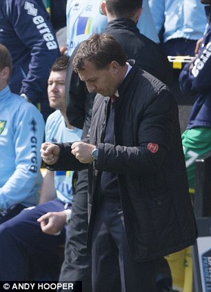 Taking on the mantle: Rodgers is the new British hope