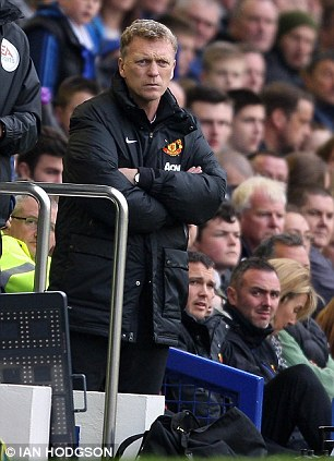 Out: David Moyes was the standard bearer for British coaches until his spell at Manchester United